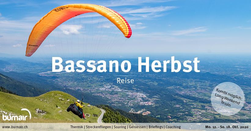 Bassano Herbst 2020 – Gleitschirm Reise