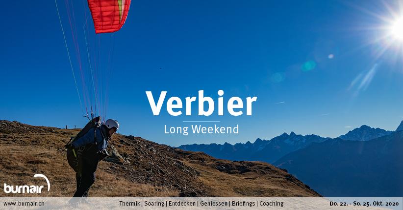 Verbier / Unterwallis 2020 – Gleitschirm Long Weekend
