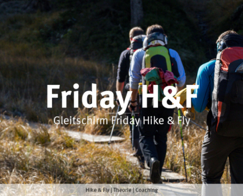 Morgen Freitag: burnair Friday Hike&Fly