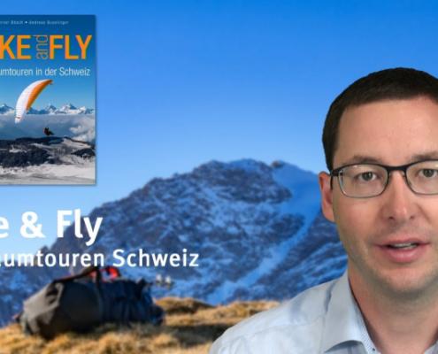 Hike & Fly 50 Traumtouren der Schweiz – burnair Map