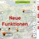 Heute Morgen wurde wieder eine neue Version der burnair Map