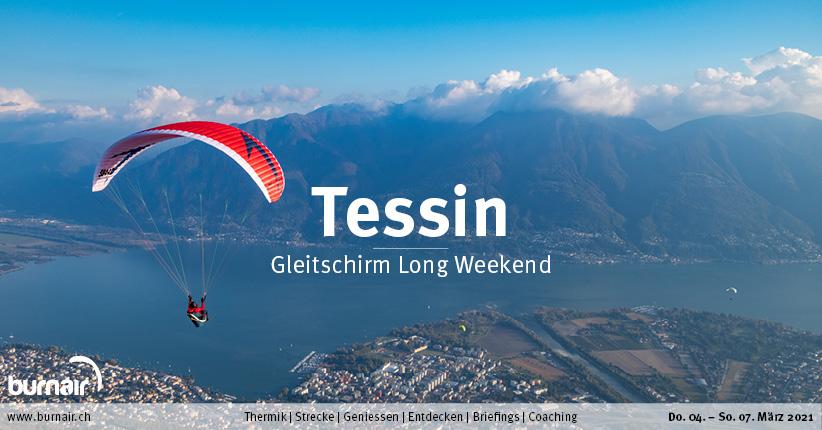 Tessin 2021 – Gleitschirm Long Weekend