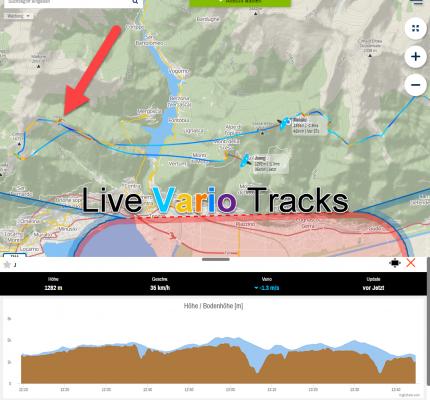 Live Vario Tracks