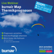 Bereits übermorgen: Live Webinar burnair Map Thermikprognosen