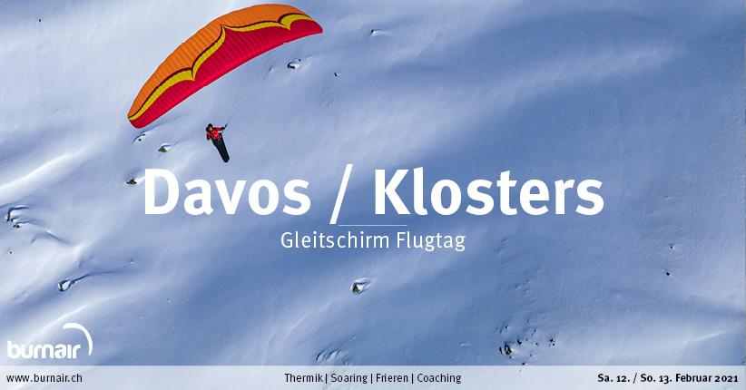 Davos / Klosters, 14. Feb. – Gleitschirm Flugtag