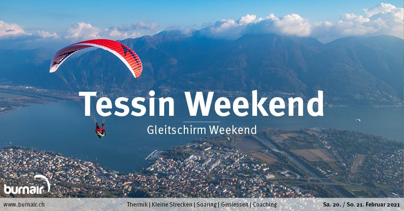 Tessin 20./21. Feb. – Gleitschirm Weekend