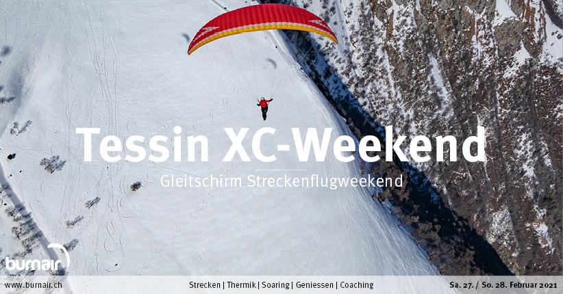 Tessin 27./28. Feb. – Gleitschirm Weekend