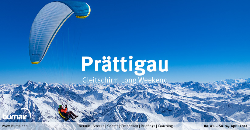 Prättigau 2021 – Gleitschirm Long Weekend