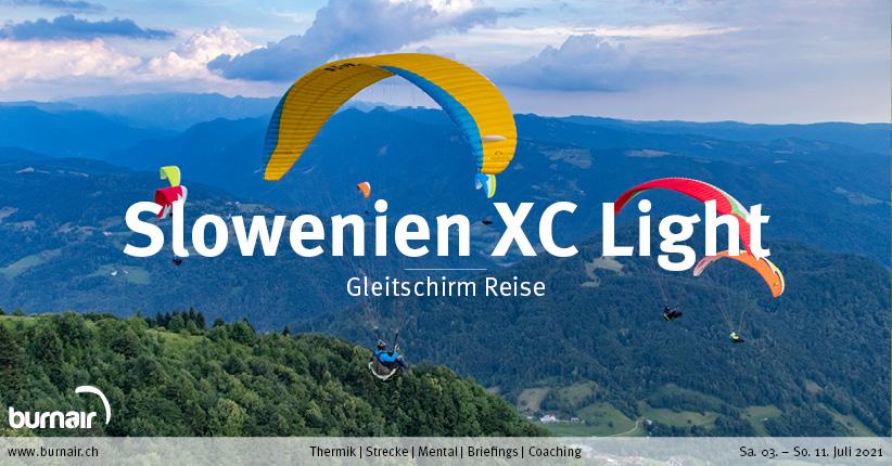 Slowenien XC Light 2021 – Gleitschirm Reise