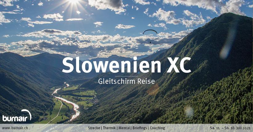 Slowenien XC 2021 – Gleitschirm Reise