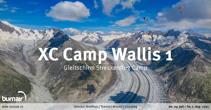 Wallis 2021 (1) – Gleitschirm XC Camp