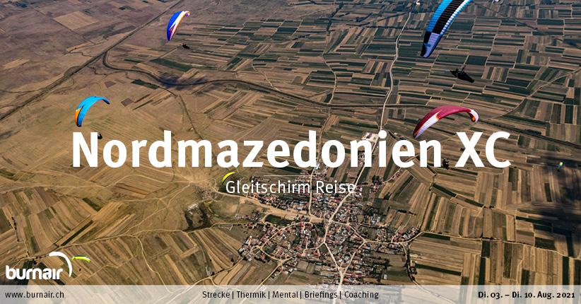 Nordmazedonien XC 2021 – Gleitschirm Reise