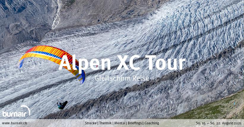 Alpen XC Tour 2021 – Gleitschirm Reise