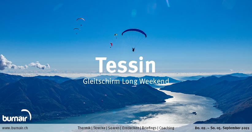 Tessin Herbst 2021 – Gleitschirm Long Weekend