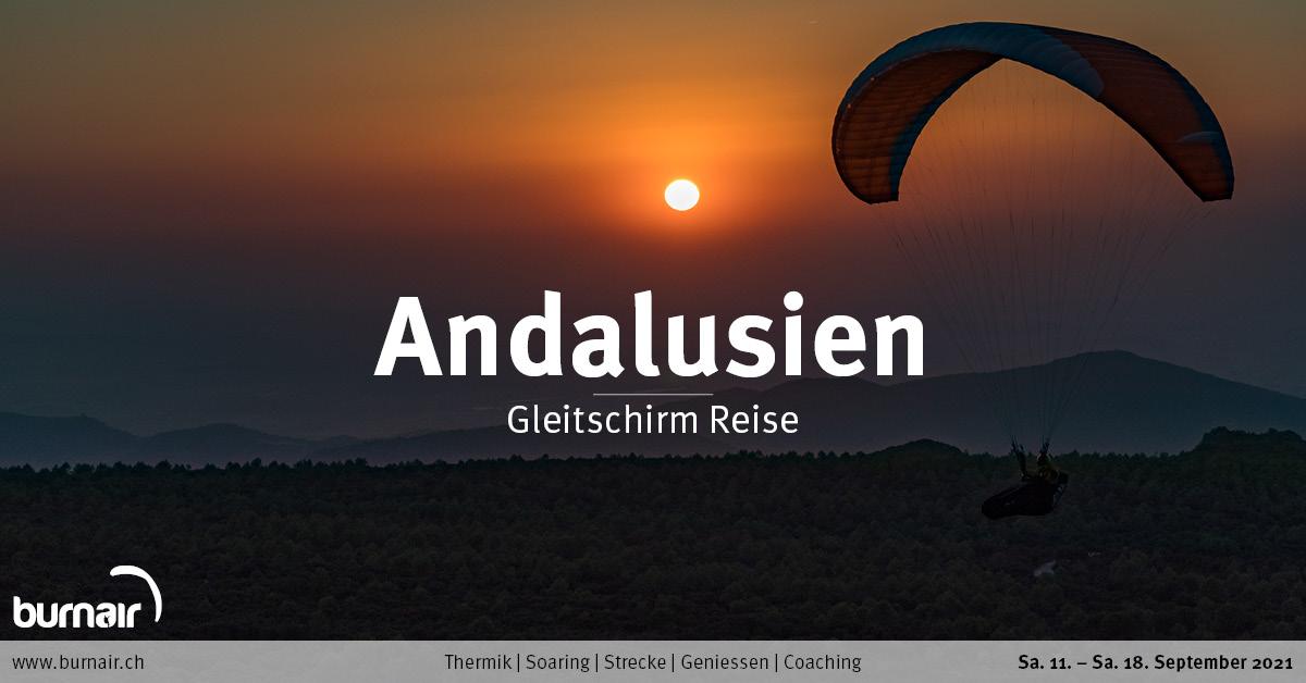 Andalusien Herbst 2021 – Gleitschirm Reise