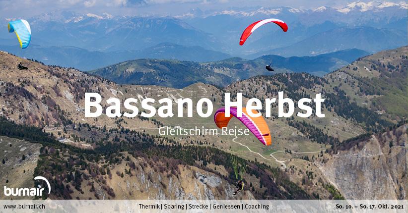 Bassano Herbst 2021 – Gleitschirm Reise
