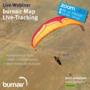 Kostenloses Live Webinar zum Thema burnair Map Live Tracking