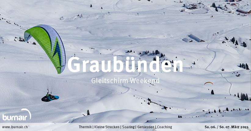 Graubünden 6./7. März – Gleitschirm Weekend