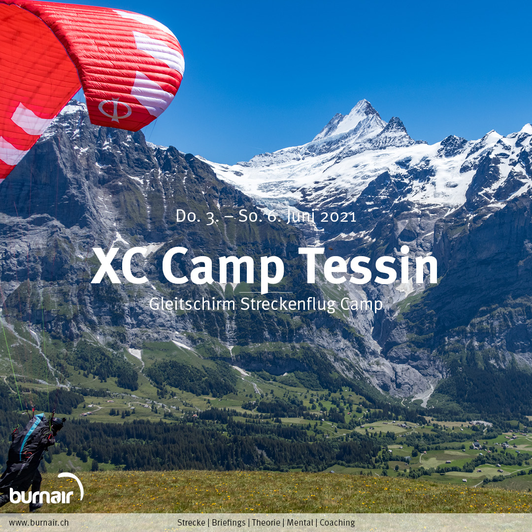 Berner Oberland 2021 – Gleitschirm XC Camp