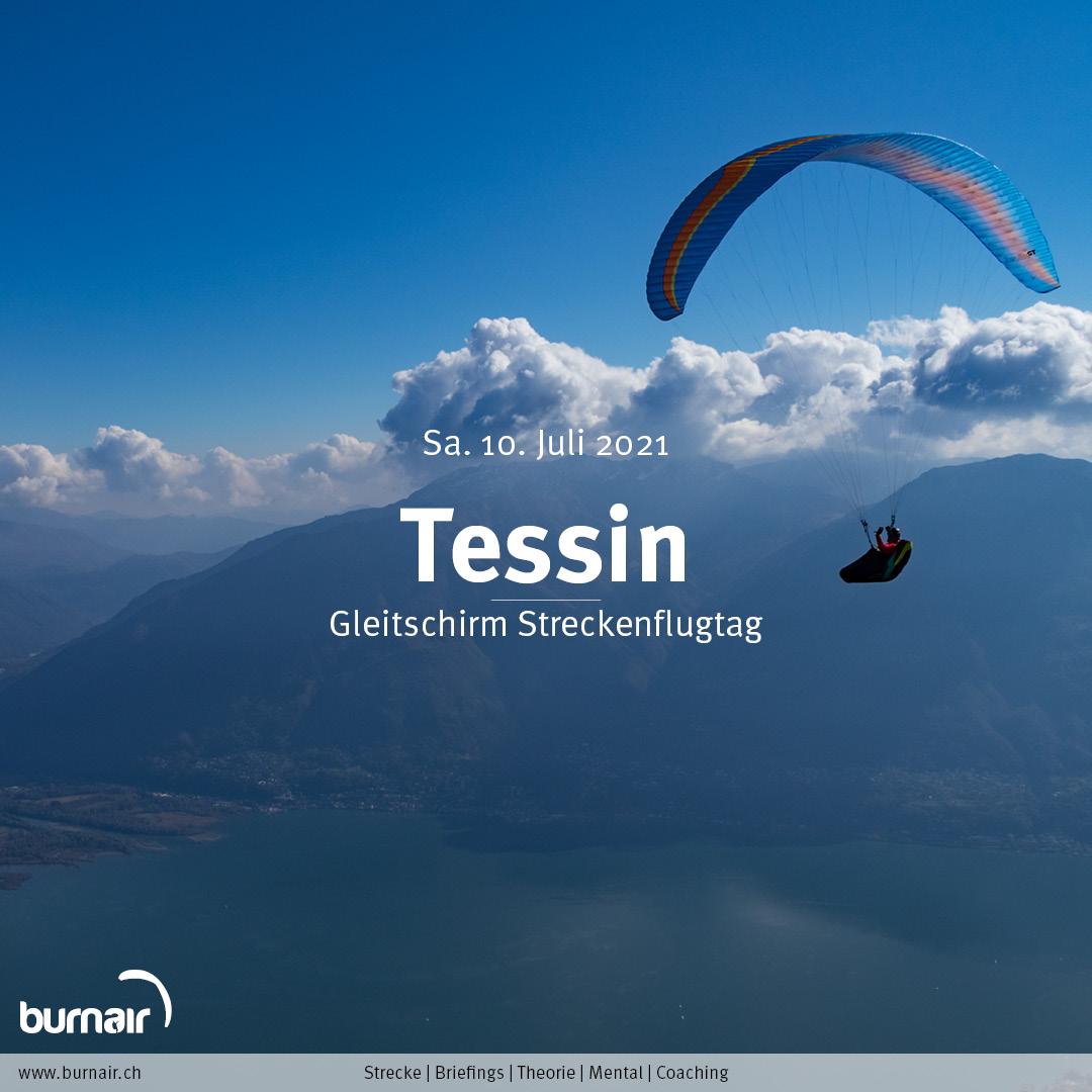 Tessin, Sa. 10. Juli – Gleitschirm Flugtag