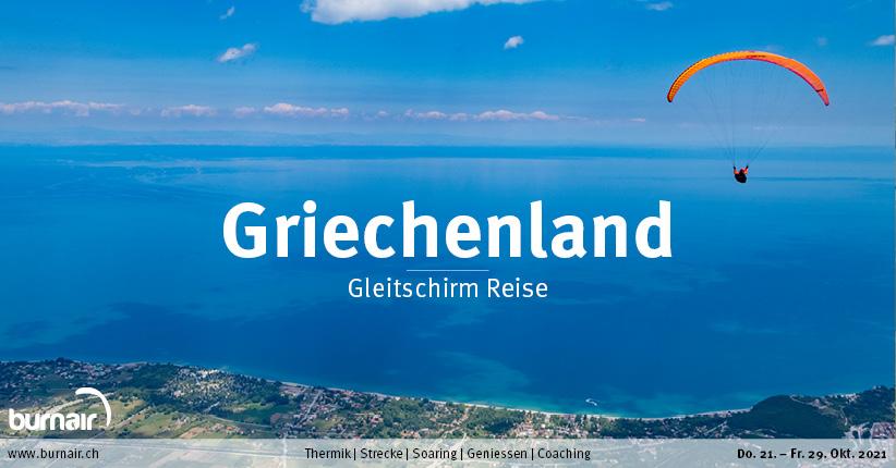 Griechenland Herbst 2021 – Gleitschirm Reise